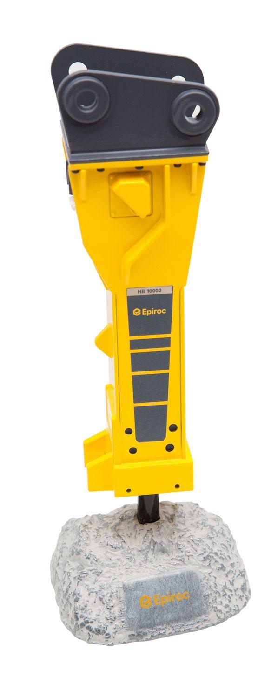 EPIROC Hydraulic Hammer HB10000 1:22 Scale